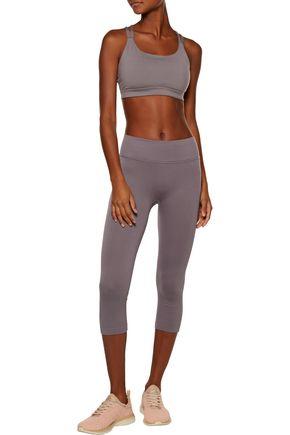 YUMMIE by HEATHER THOMSON® Gabby cropped stretch-knit leggings