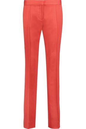 STELLA McCARTNEY Anna wool-twill straight-leg pants