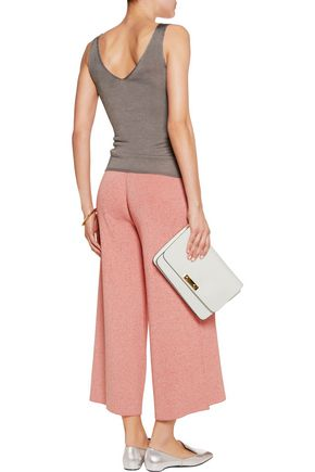 STELLA McCARTNEY Ribbed stretch-jersey culottes