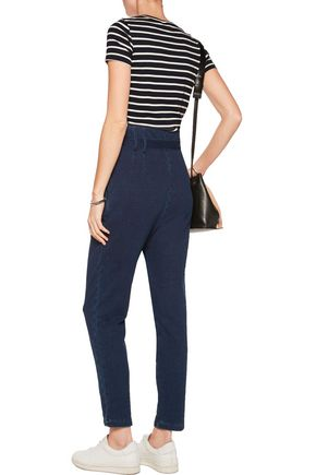 AG Jeans Pentra cotton-jersey tapered pants