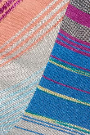 MISSONI Crochet-knit straight-leg pants