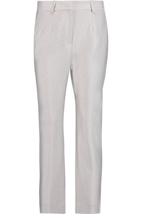 MISSONI Cropped jacquard tapered pants
