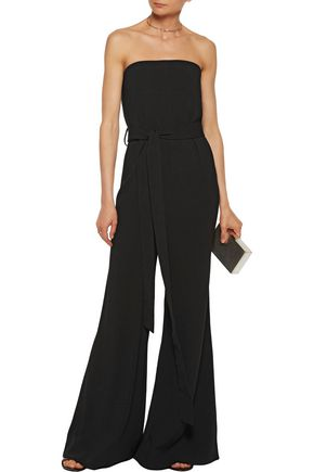 CO Belted crepe jumpsuit