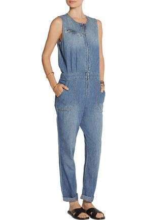 CURRENT/ELLIOTT The Flight denim jumpsuit