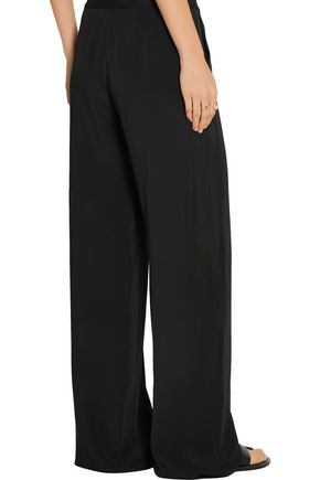 MAISON MARGIELA Striped wool-blend twill straight-leg pants