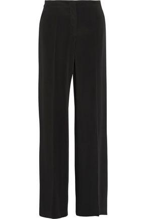 MAISON MARGIELA Striped wool-blend twill straight-leg pants