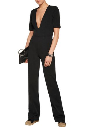 3x1 Stretch-denim jumpsuit