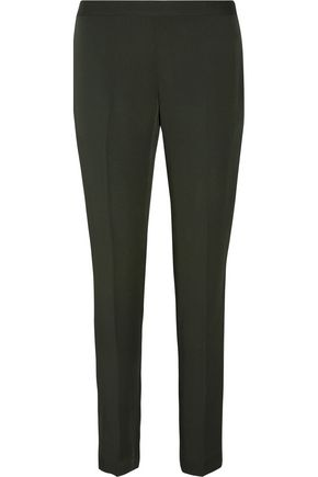 THEORY Termin silk straight-leg pants