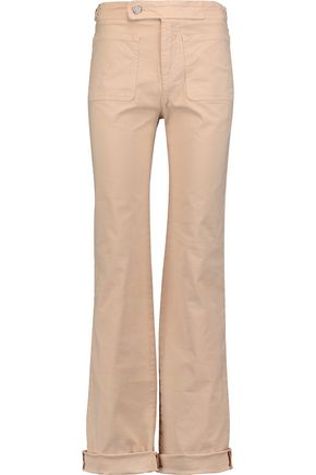 SEE BY CHLOÉ Cotton-blend bootcut pants