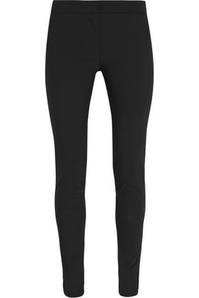 STELLA McCARTNEY Cotton-blend crepe skinny pants
