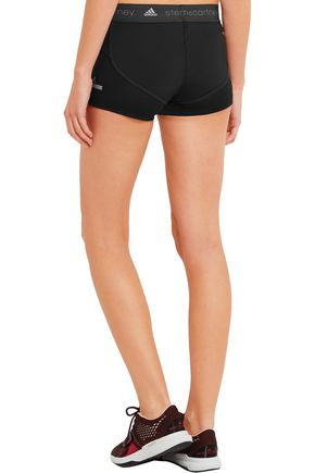ADIDAS by STELLA McCARTNEY Running Climachill® mesh-paneled stretch shorts