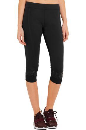 ADIDAS by STELLA McCARTNEY Paneled Climalite® stretch leggings