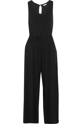 SPLENDID Cropped stretch-jersey jumpsuit