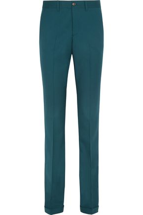 MIU MIU Stretch-wool twill flared pants