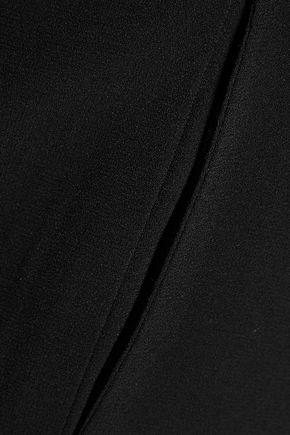 ZIMMERMANN Mischief cropped crepe wide-leg pants