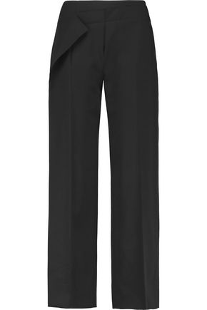 AGNONA Wool straight-leg pants