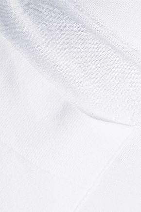 SOYER Cropped stretch-knit wide-leg pants