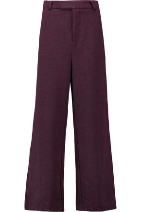 GANNI Jacquard wide-leg pants