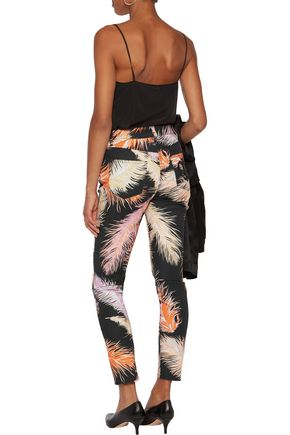 EMILIO PUCCI Printed mid-rise skinny jeans