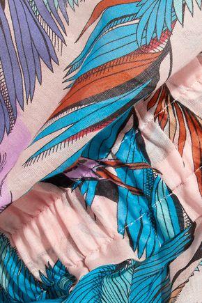 EMILIO PUCCI Printed cotton-voile jumpsuit