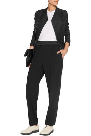 DKNY Crepe straight-leg pants