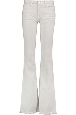 IRO Freddy cotton-blend twill bootcut pants