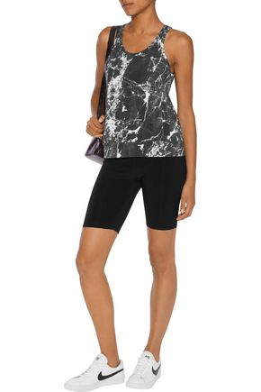 NORMA KAMALI Stretch-jersey shorts