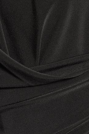 NORMA KAMALI Stretch-jersey halterneck jumpsuit