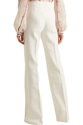 GIAMBATTISTA VALLI Crepe straight-leg pants