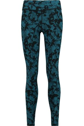 YUMMIE by HEATHER THOMSON® Hannah printed cotton-blend jersey leggings