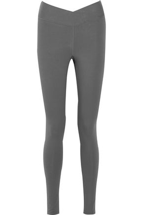 YUMMIE by HEATHER THOMSON Hannah cotton-blend jersey leggings