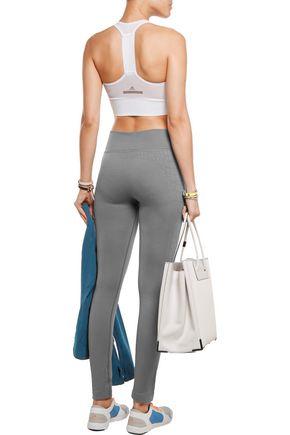 YUMMIE by HEATHER THOMSON® Jett croc-effect stretch-jersey leggings