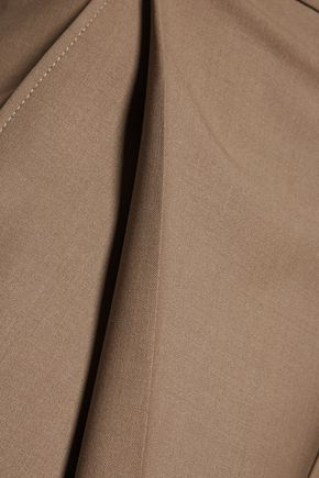 BRUNELLO CUCINELLI Wool-blend twill culottes