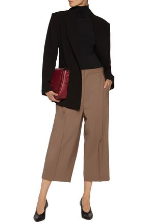 BRUNELLO CUCINELLI Wool-blend twill culottes