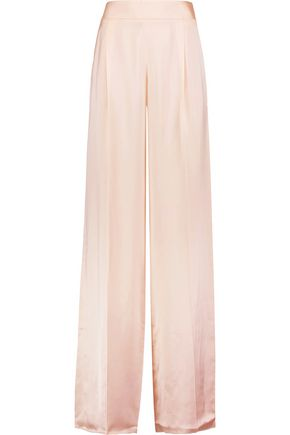 MAISON MARGIELA Silk wide-leg pants