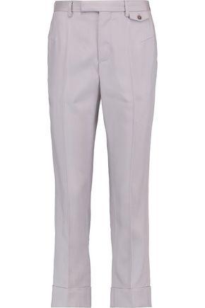 MAISON MARGIELA Cropped piqué slim-leg pants