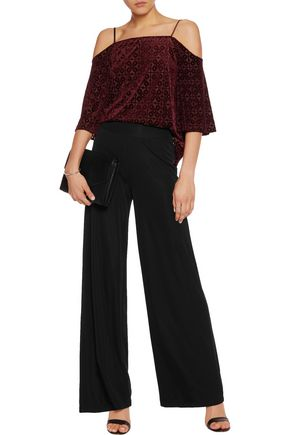 BAILEY 44 Peggy stretch-jersey wide-leg pants