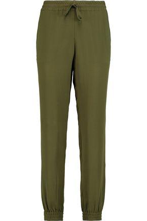 VALENTINO Silk-crepe pants
