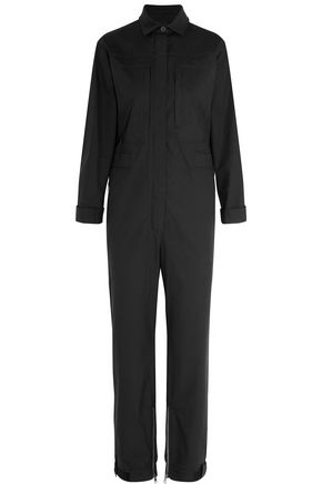VALENTINO Cotton-blend poplin jumpsuit