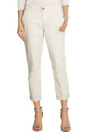 J BRAND Alex cotton-blend straight-leg pants