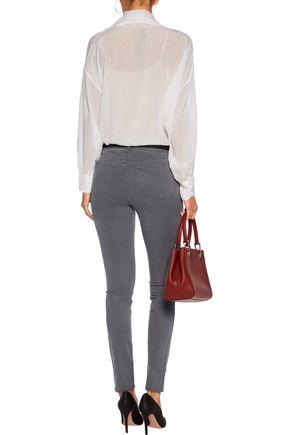 J BRAND 485 twill skinny pants