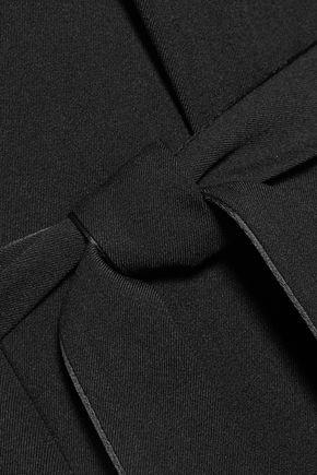 HALSTON HERITAGE Embellished crepe jumpsuit