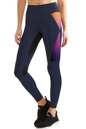 LUCAS HUGH Aurora stretch leggings