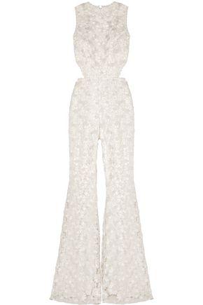 ALEXIS Valerja cutout corded lace jumpsuit