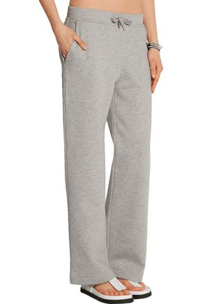 T by ALEXANDER WANG Cotton-blend jersey wide-leg pants