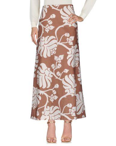Фото - Длинная юбка от JUCCA коричневого цвета