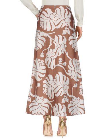 Фото 2 - Длинная юбка от JUCCA коричневого цвета