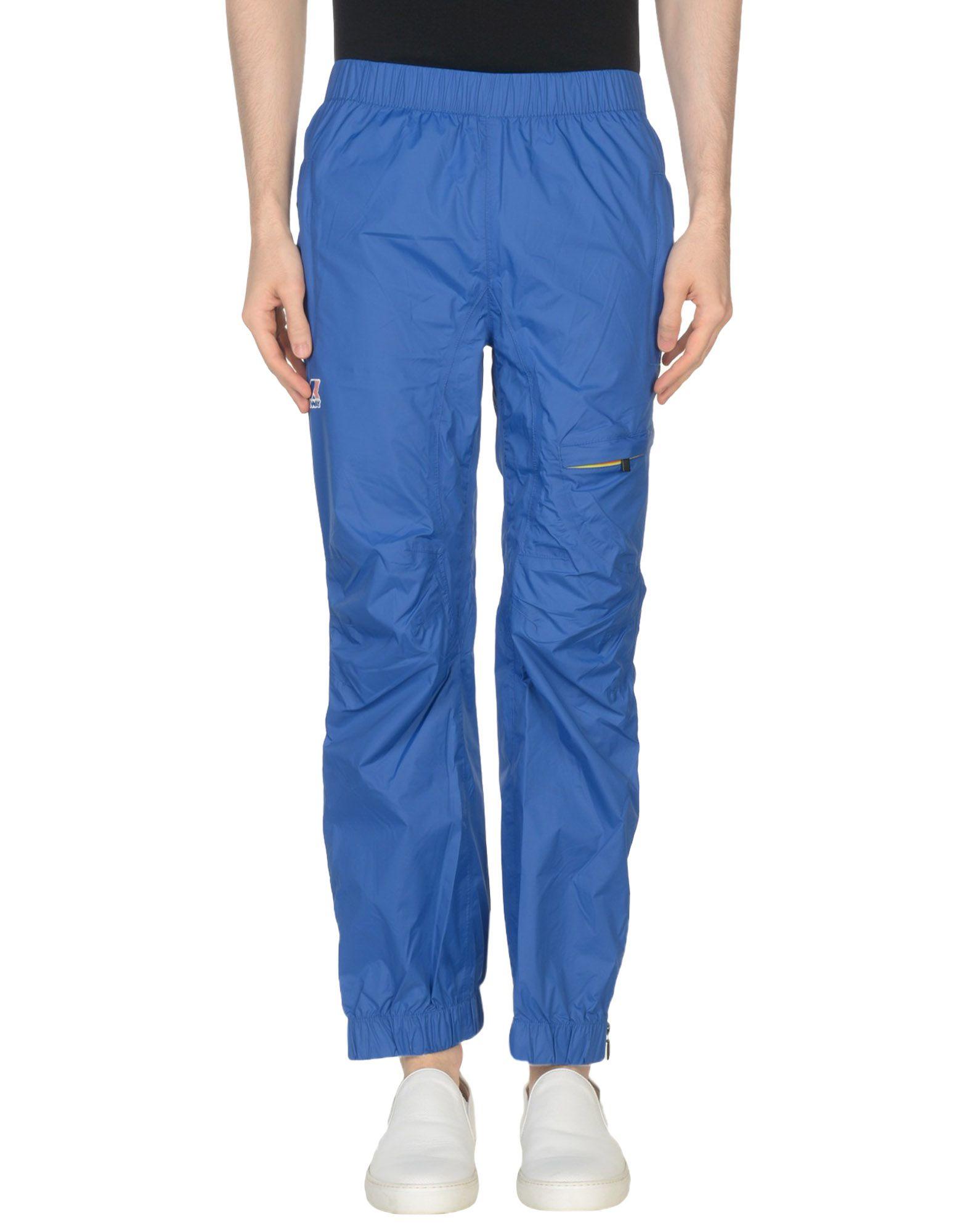 《セール開催中》K-WAY メンズ パンツ アジュールブルー XS ナイロン 100%