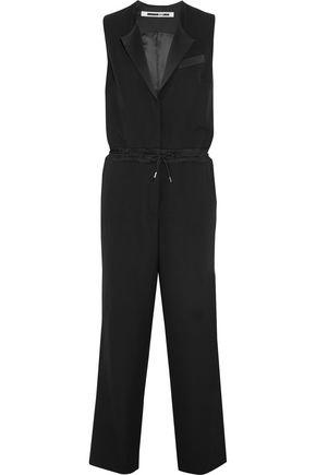 McQ Alexander McQueen Wool-gabardine jumpsuit