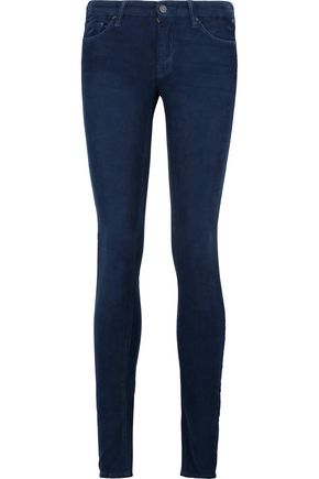 MOTHER The Looker cotton-blend corduroy skinny pants
